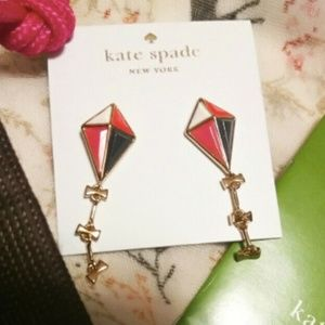 NWT Kate Spade Limit.Ed. 'Off We Go' Drop Earrings